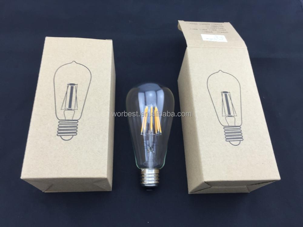Newhouse Lighting Ledebd-og St64 Led Vintage Edison Filament Light ...