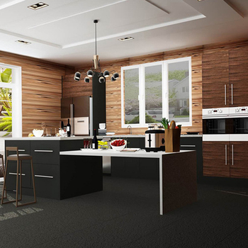 New Design Panel Board Black Small Flat Pack Kitchen Cabinet Kitchenette All In One Buy Black Small Kitchen Cabinets Flat Pack Kitchen