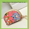 2015 cute printing shell shape canvas embroidery new design women wallet