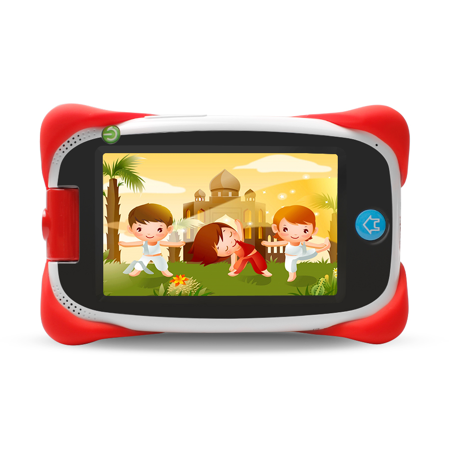 High quality 16GB Kid Pad 5 Inch Android Tablet Touch Kids games tablet WiFi andriod free case children tablet