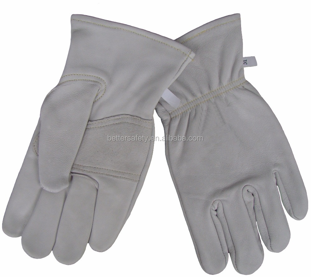 No Lining Soft Short Cow Grain Leather Glove New Products