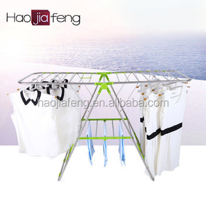 HJF GW-588B Adjustable Folding Metal Iron Outdoor Clothes Drying rack/hanger