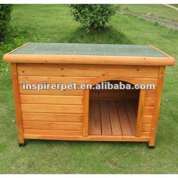 Beautiful log cabin casa di cane da compagnia legno casa for Una storia di casa piani di log