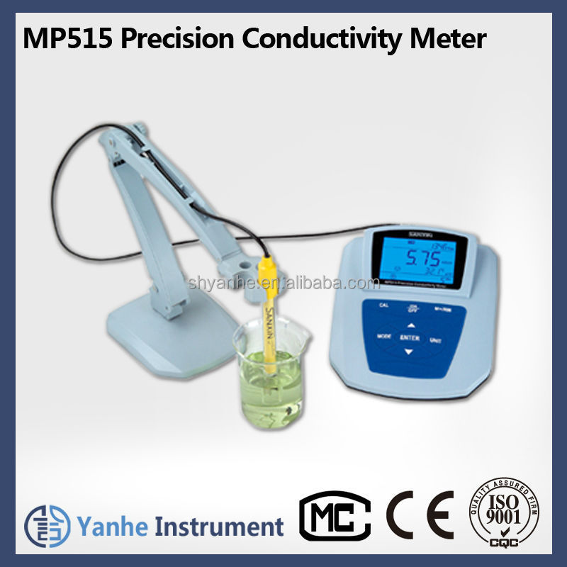 MP515 conductivity meter electrical resistivity measuring instruments