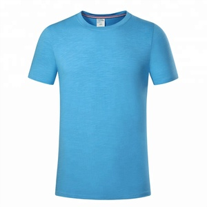 pre shrunk smooth feeling 190 grams 32s premium t shirt wholesale
