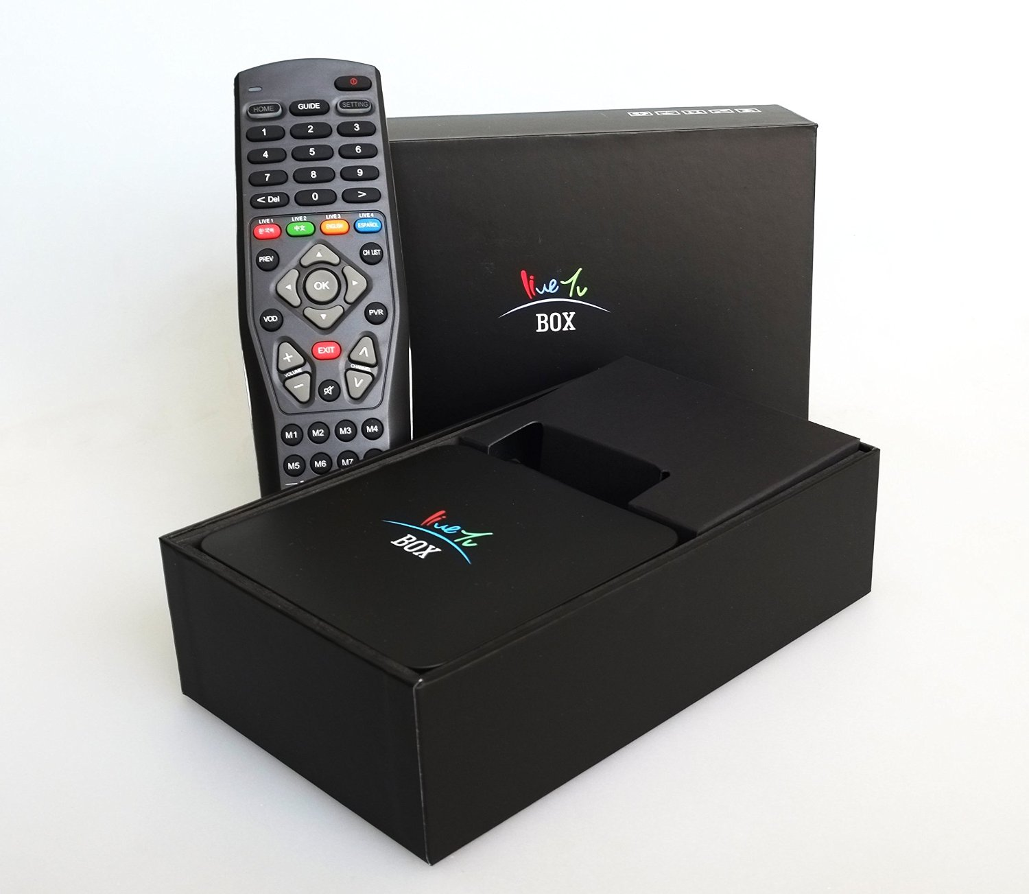 Home Tv Box - Chinese Live Smart Tv Box. Quad Core Streaming Media Player