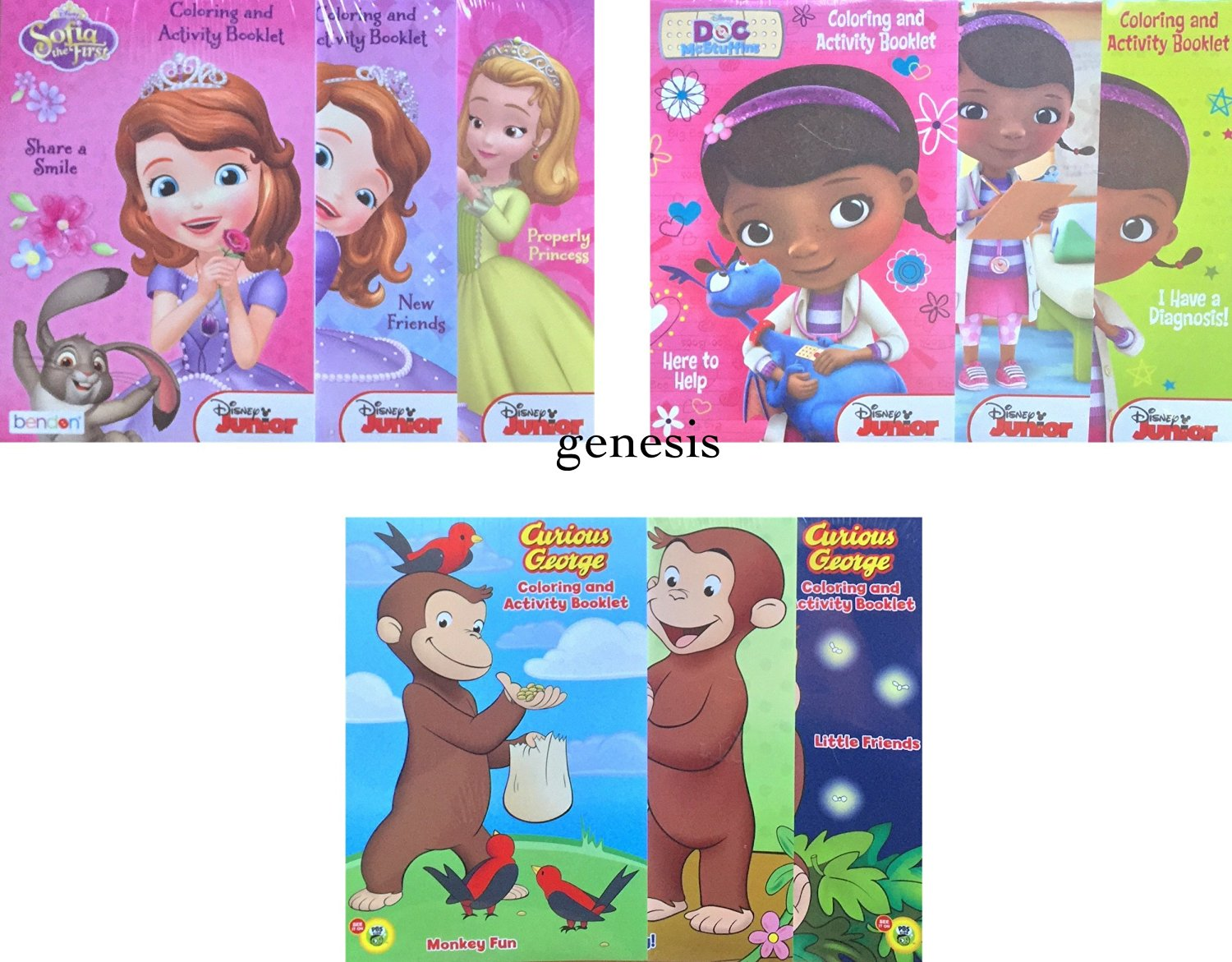 Buy Disney Junior Children's Coloring And Activity Booklets