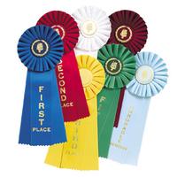 wholesale customized horse show award ribbon rosette
