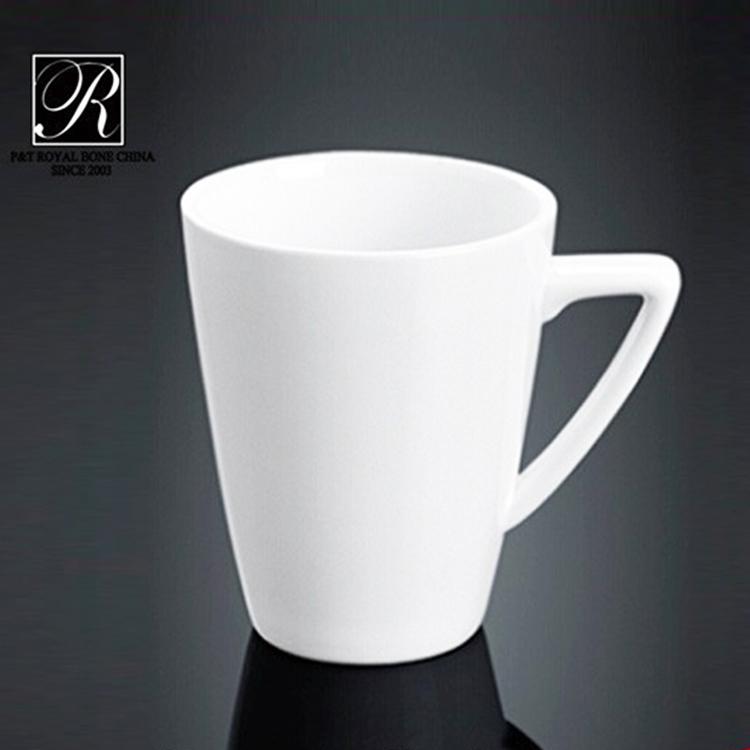 wholesale P&T Royal Ware White porcelain mugs Restaurant ceramic coffee mug