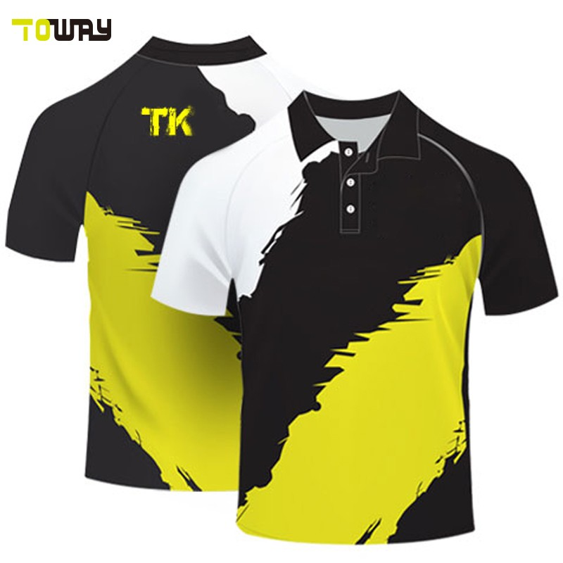Sample color combination polo shirt design buy color for Polo shirt color combination