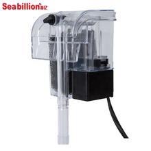 Seabillion Hot verkoop <span class=keywords><strong>Aquarium</strong></span> silent & waterval Externe Filter Buiten opknoping Filter kleine <span class=keywords><strong>cyclus</strong></span> filtratie voor fish tank
