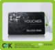 pvc plastic membership card printing spot UV with embossed digital number for good price.
