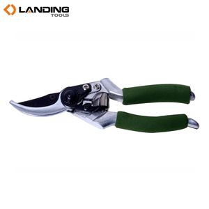 Garden Scissors Pruning Shear With Black Teflon Electroplated Steel Blade