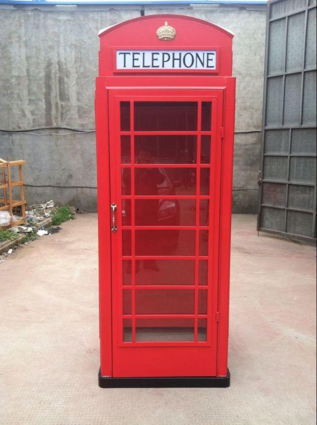 botou hengsheng antique rouge t l phone kiosque londres cabine t l phonique vendre artisanat. Black Bedroom Furniture Sets. Home Design Ideas