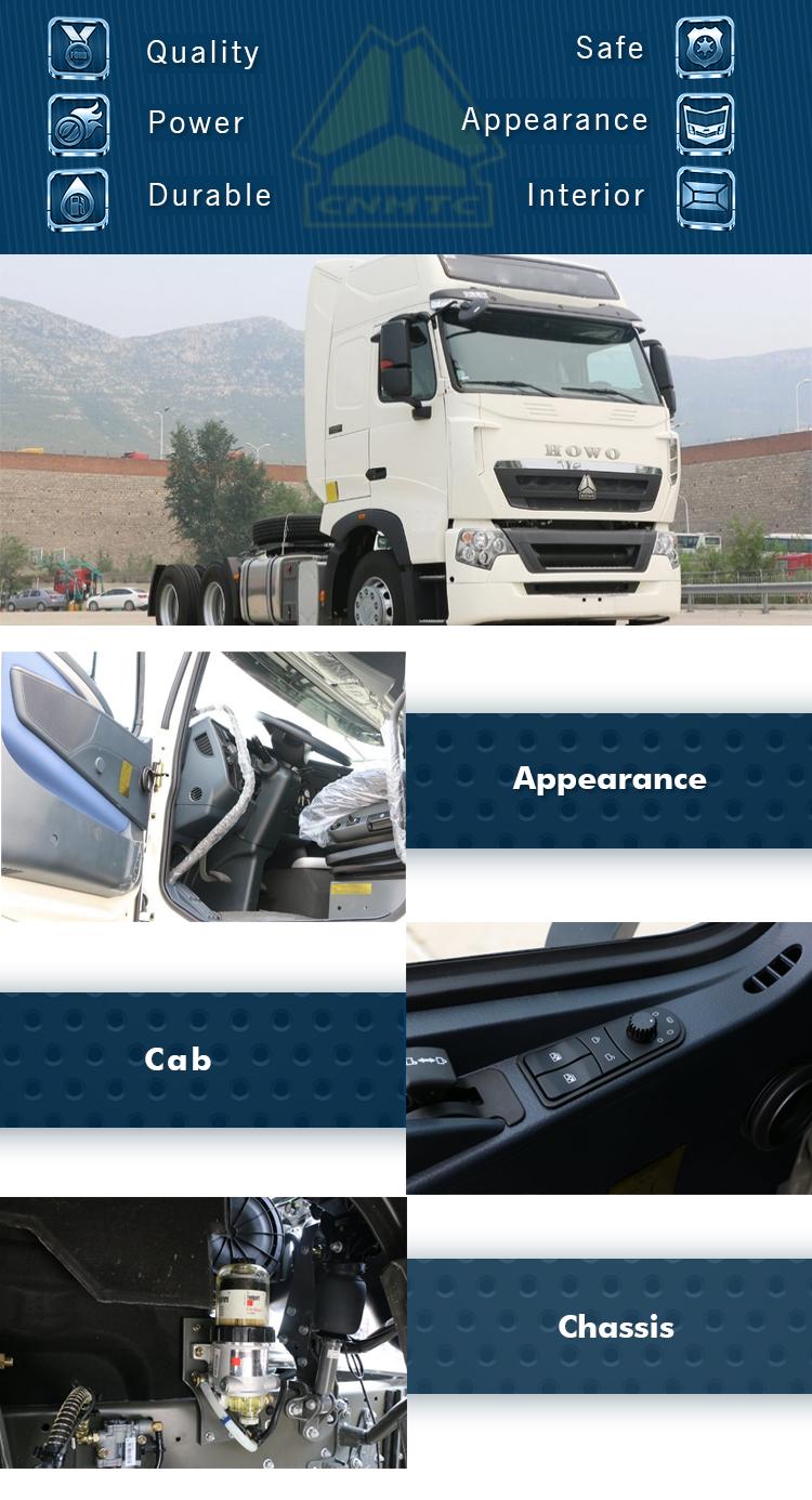 2018 Sinotruk Howo T7h 6*4 Man Engine Mc11 Tractor Truck/tractor Head Low  Price - Buy 6*4 Sinotruk Howot7h Tractor Head,Man 6x4 Tractor Truck,Tractor