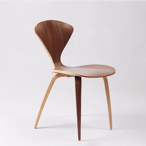 CH177 The fan chair walnut Norman Cherner side Chair