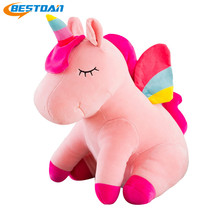 Bestdan commercio all'ingrosso arcobaleno colorato <span class=keywords><strong>peluche</strong></span> farcito <span class=keywords><strong>unicorn</strong></span> <span class=keywords><strong>peluche</strong></span>