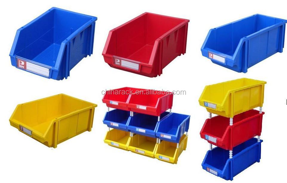 Entrep t industriel en plastique empilable bac de rangement equipements de ca - Boite rangement industriel ...