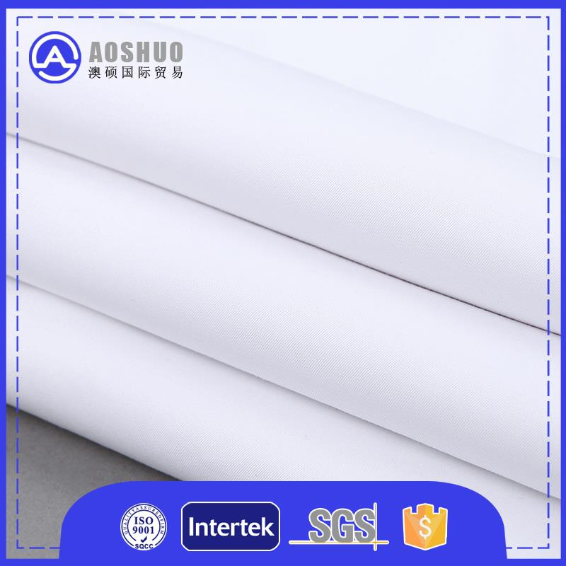 canvas fabric to make bags 65% polyester 35% cotton 45s poplin shirting fabric 125gsm shirting fabric
