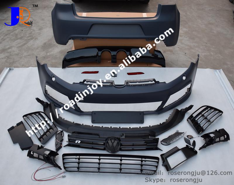 golf 6 r20 pp kits voiture kit carrosserie pour vw golf mk6 r20 accessoires de voiture pare. Black Bedroom Furniture Sets. Home Design Ideas