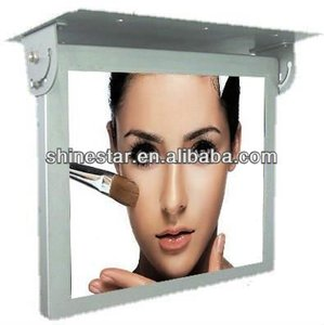 24inch LCD bus advertisement display screen with ceiling mount
