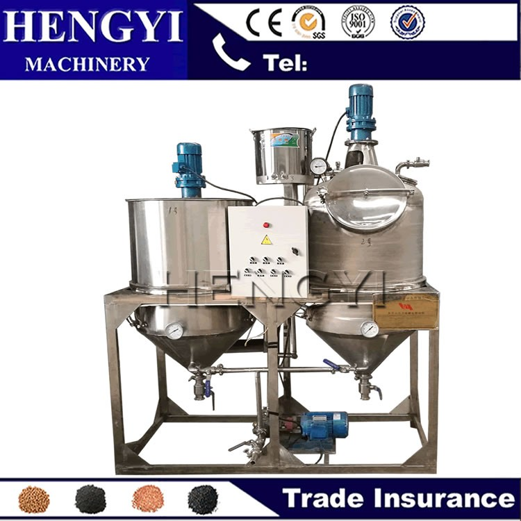 Big discount crude cooking oil refining plant, oil refinery equipment