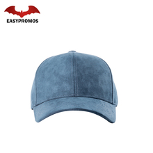 100% Cotton High Quality Suede Cap / Custom Baseball Cap