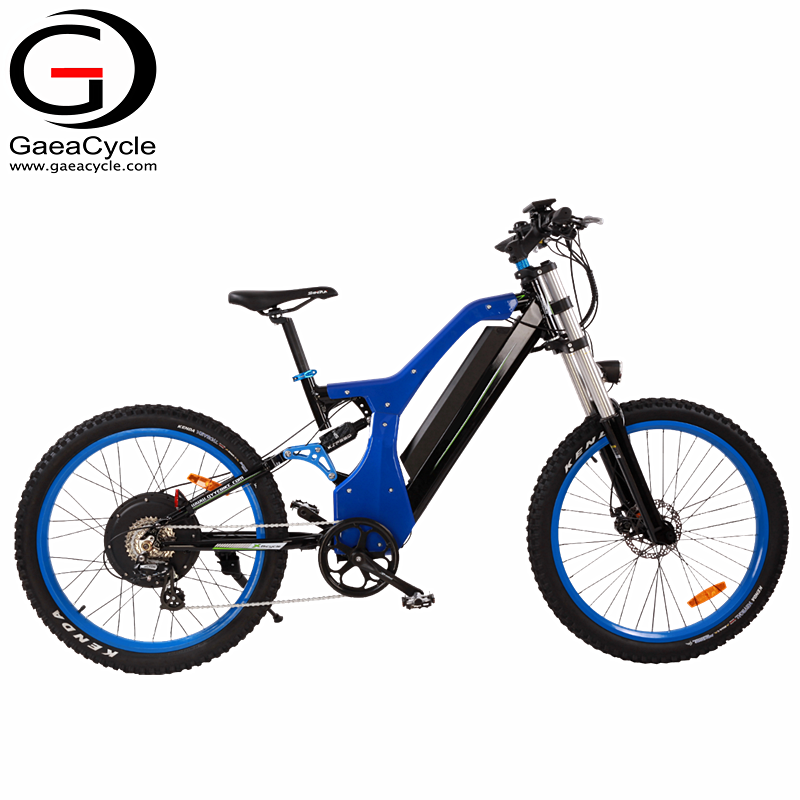 Gaea powerful electric dirt bike for adults fat tire off road strong motorized bicycle