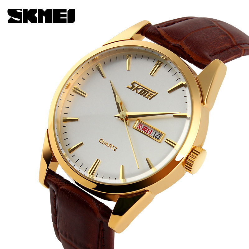 golden case genuine leather most expensive quartz watches for golden case genuine leather most expensive quartz watches for business men