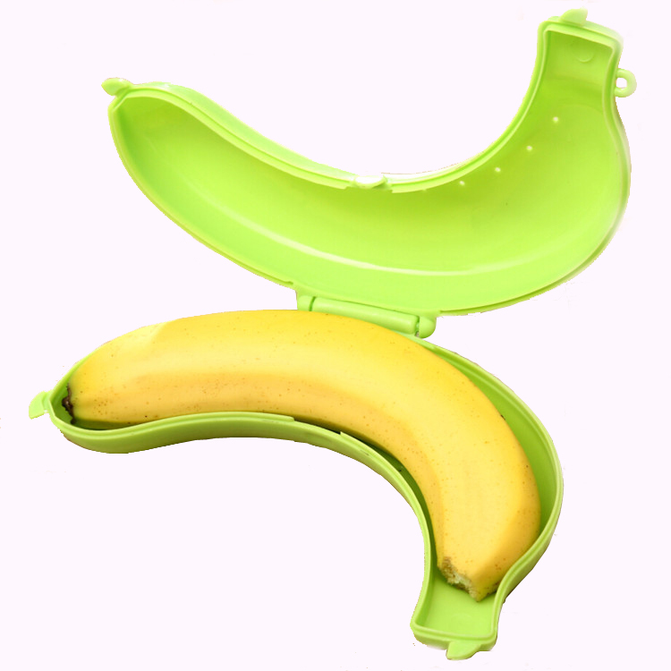 Cute Banana Storage Bo Plastic Pp Fruit Protector Container Freshness Preservation Trip Outdoor Bag Free Shipping F 15