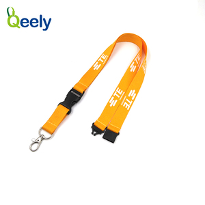 Fuzhou Qeely Top Quality Waterproof Transparent promotional lanyards
