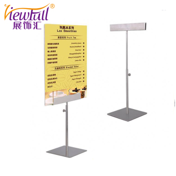 Restaurant Poster Table Stand Metal Advertising Stands Buy Metal - Restaurant table stands