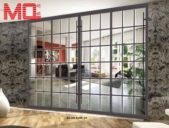 Aluminium iron main entrance doors grill grille design Main entrance door grill