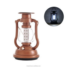 Solar Powered 16 LED Hand-cranked Hanging Charging Camp Lights Camping Hiking Fishing Lantern for Outdoor