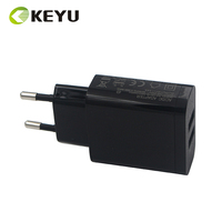 mobile power adapters fast speed 5V 2.4A dual usb charging head for cell phone
