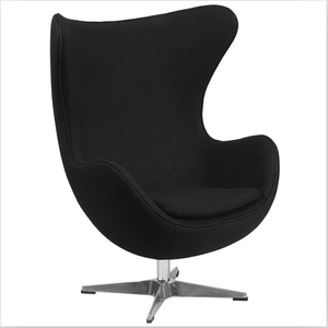 modern egg shape cashmere seat swivel cheap lounge danish bolero egg arm chair