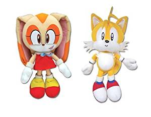 Buy Set Of 2 Great Eastern Sonic The Hedgehog Plush Cream Tails In Cheap Price On Alibaba Com