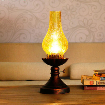 Wholesale Oil Lamp Decoration Warm Light Beside Table Lamp - Buy N ...