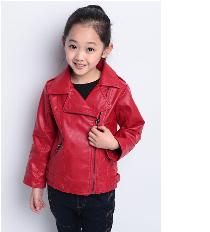 Buy Korean Little Girls Coats And Jackets 4-12T Long Girls Outwear ...