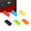 Hot Style 6 Color Standard Micro USB Dust Jack Plug Cover DIY Parts Cap Universal for