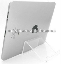 Top class lucite stand for ipad