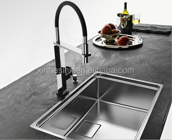Uk Inset Stainless Steel Topmount Handmade Kitchen Sink With Drainer ...