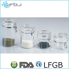 food use coffee sugar tea flip acrylic container . * / ~