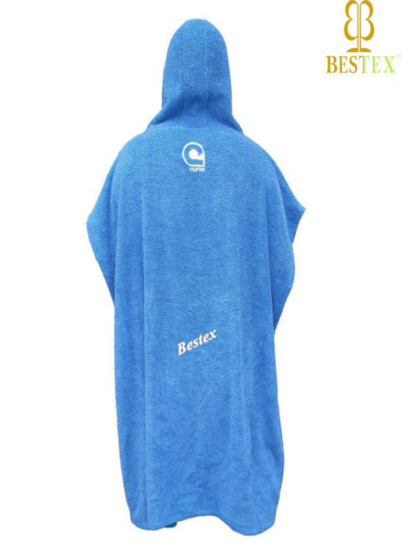 surfing suit logo unisex cheap poncho hooded beach towels pattern