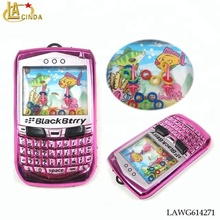 Classic toys water game electroplating blackberry Mobile phone kids game phone toys