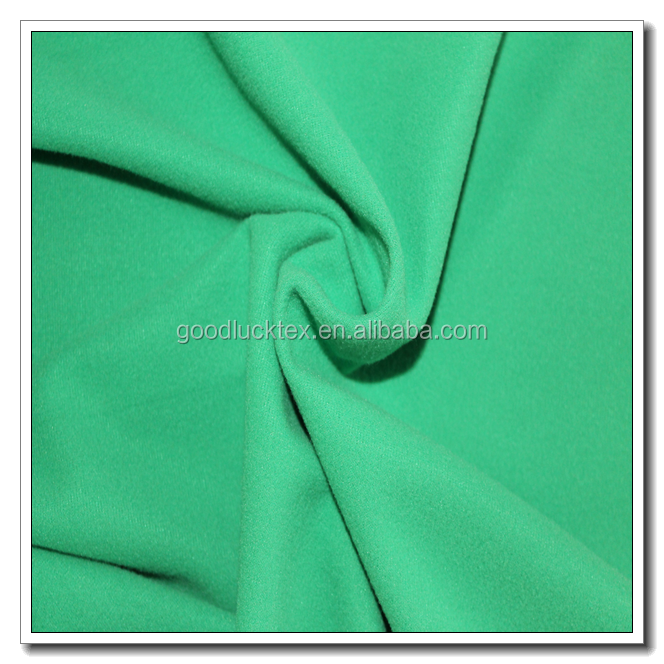 100% polyester super poly fabric for uniform, track suit fabric, brushed knitted fabric