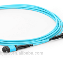 MTP Female to MTP Female 12 cores OM3/Optical fiber cable patch cord