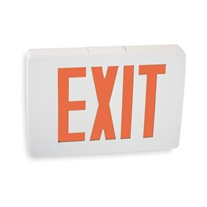 ACUITY LITHONIA Cast Aluminum LED Exit Sign/ Battery Backup