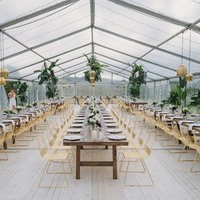 Farmhouse style wedding wood rustic Banquet Event rental Wedding Tables
