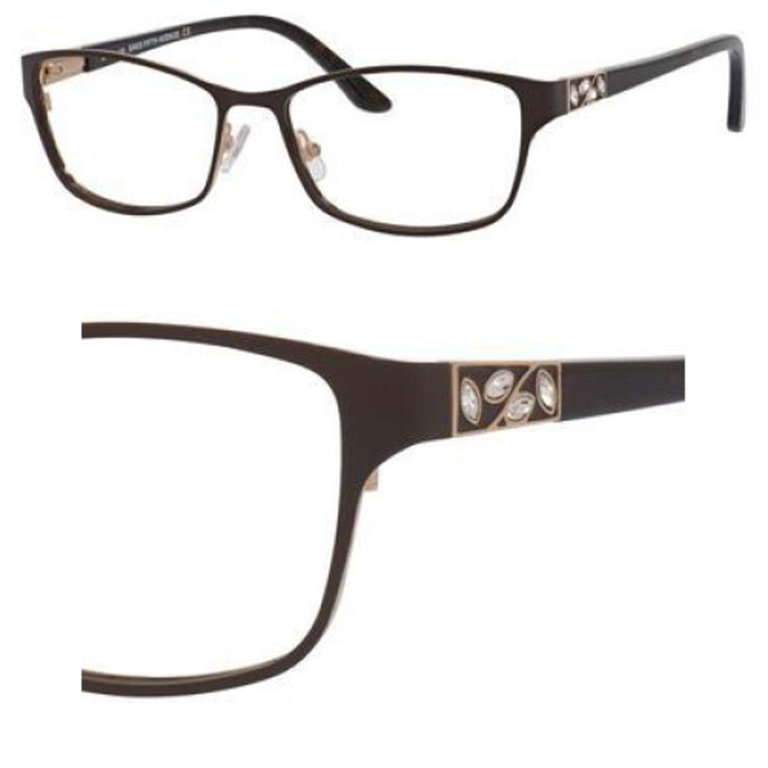 Eyeglasses Saks Fifth Avenue A 301 0JDV Brown Gold
